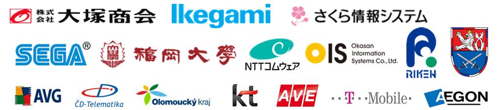 Flowmonは、国内外、多数のお客様にご利用いただいております